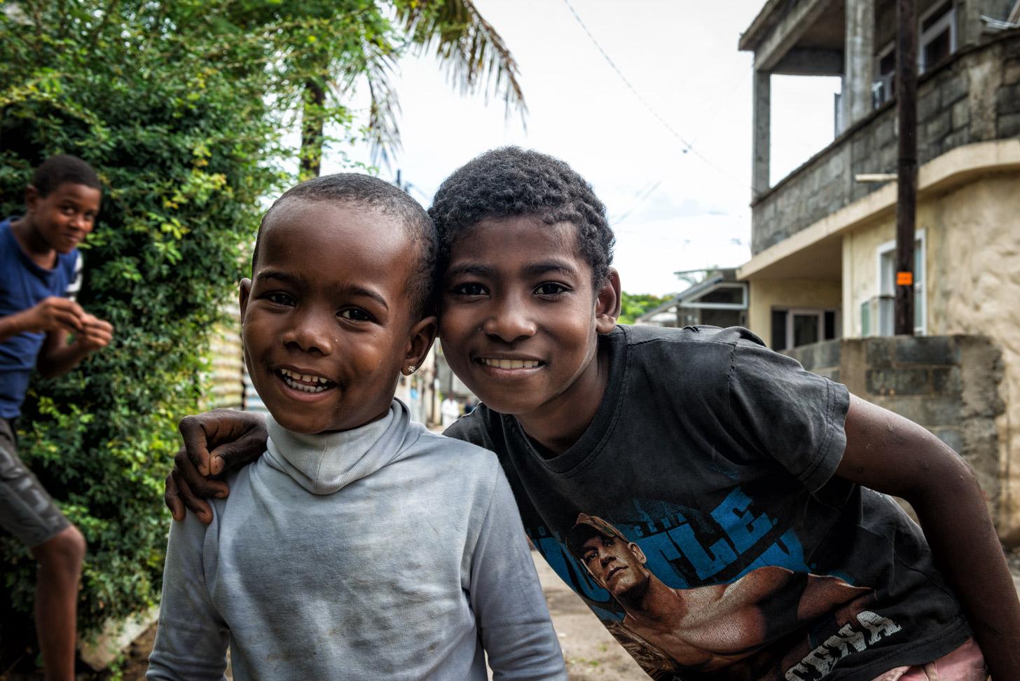 kinderen van Mauritius