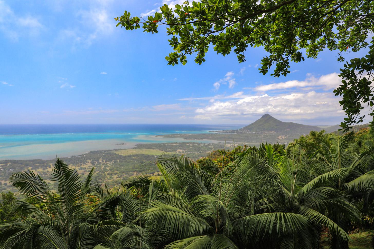Mauritius tegenwoordig: uitzicht op Mauritius