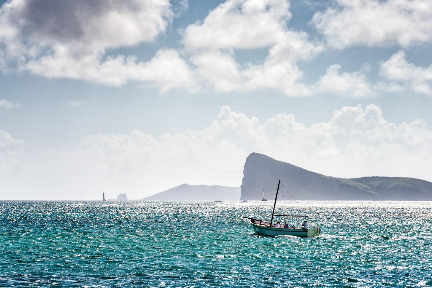 winterzon op Mauritius