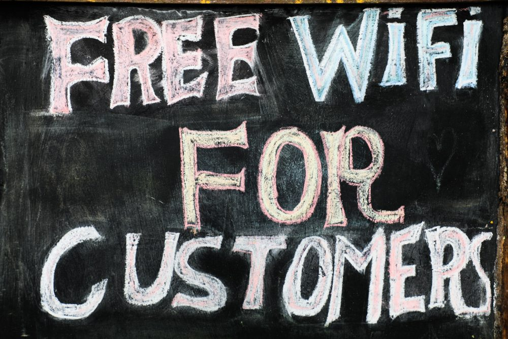gratis internet via wifi