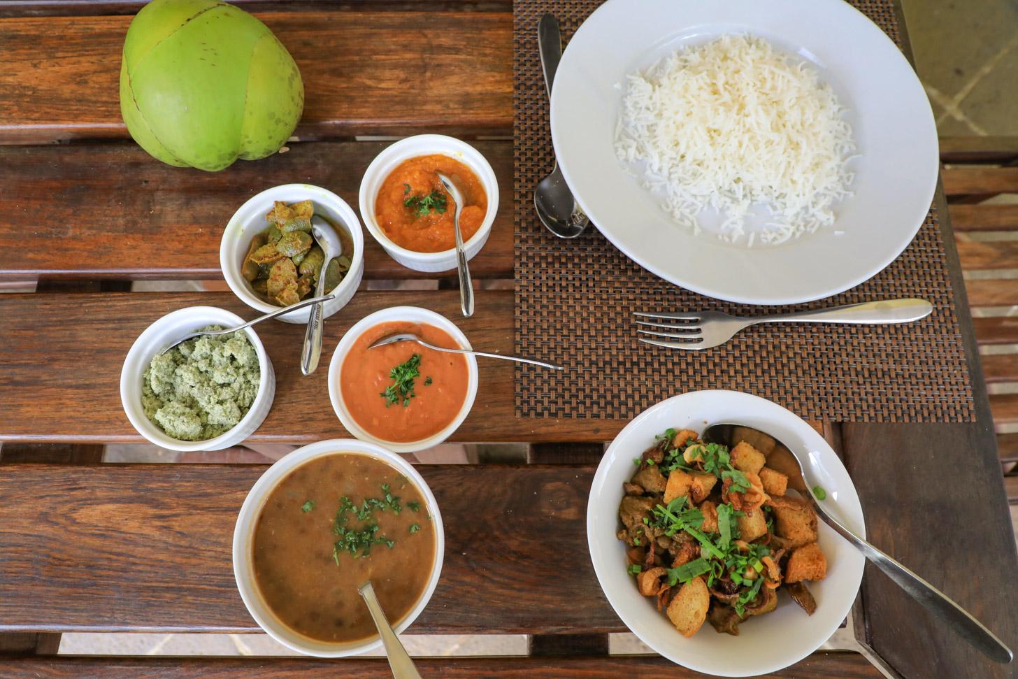 traditioneel eten op Mauritius