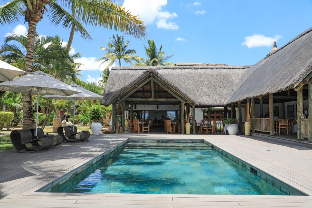 hotel op Mauritius