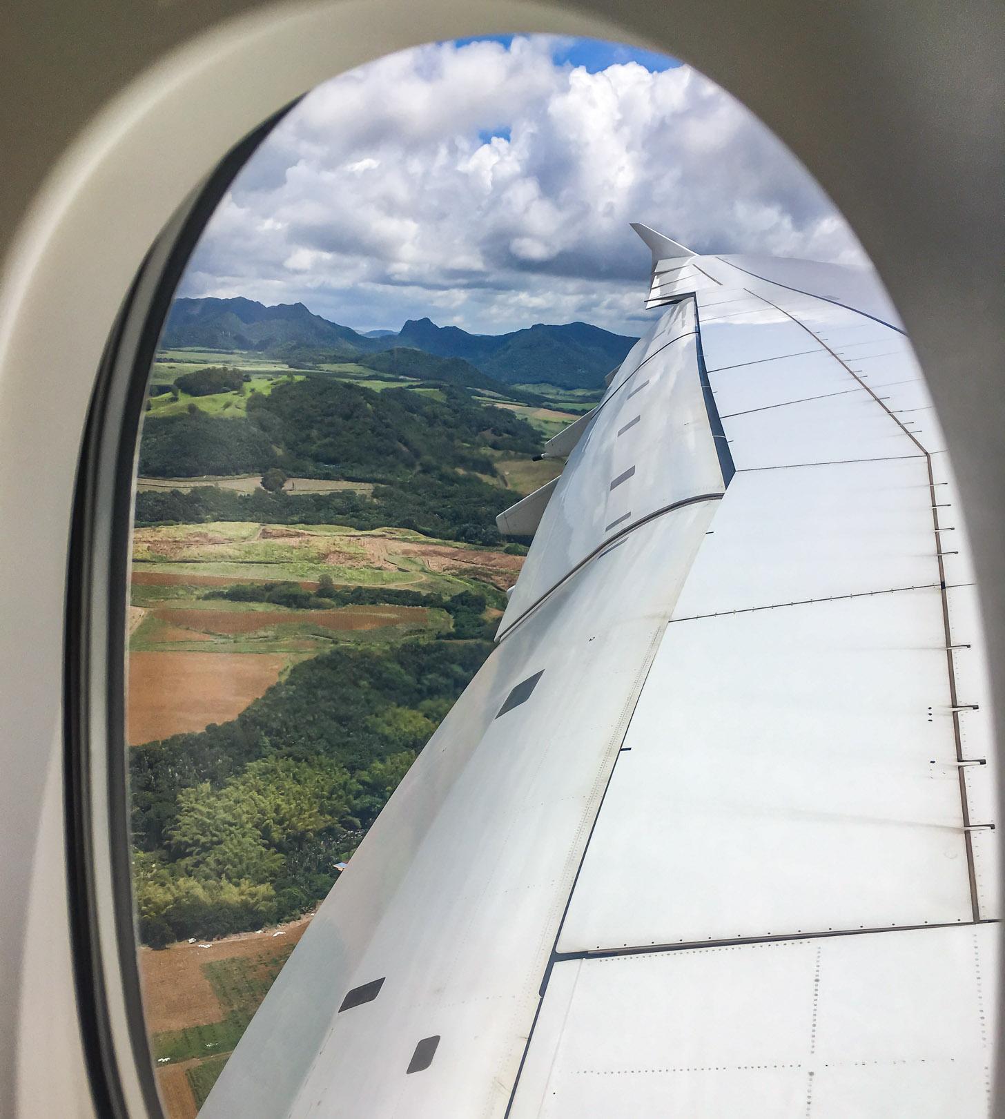 Vliegen naar Mauritius